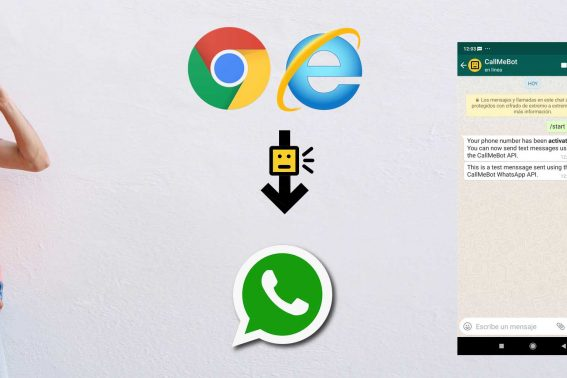 Send WhatsApp from Simple REST API
