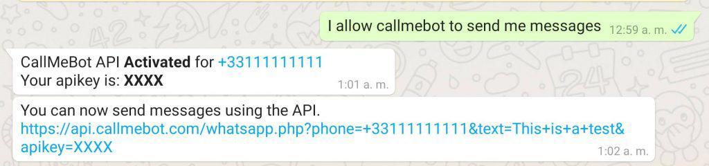 Free Api To Send Whatsapp Messages Callmebot Api