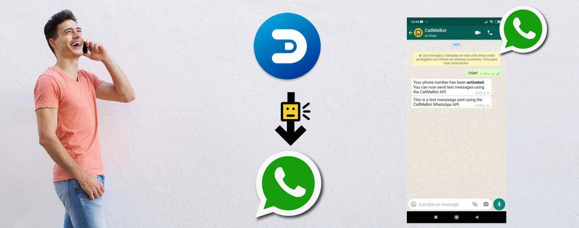 Send WhatsApp messages from Domoticz