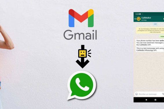 Send WhatsApp from Gmail