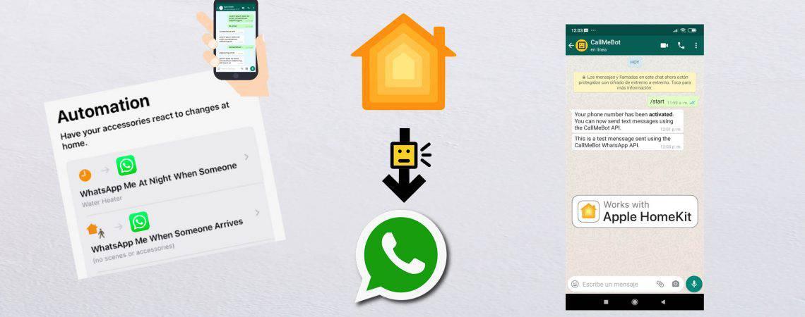 CallMeBot WhatsApp API works with Homekit